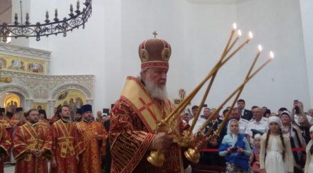 Патриарх Кирилл посетил Алапаевск